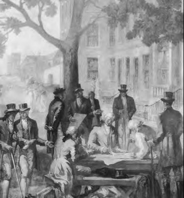 In 1792, the New York Stock Exchange was a bunch of guys standing around a buttonwood tree at 68 Wall Street shouting at each other on days when it didn't rain or snow.